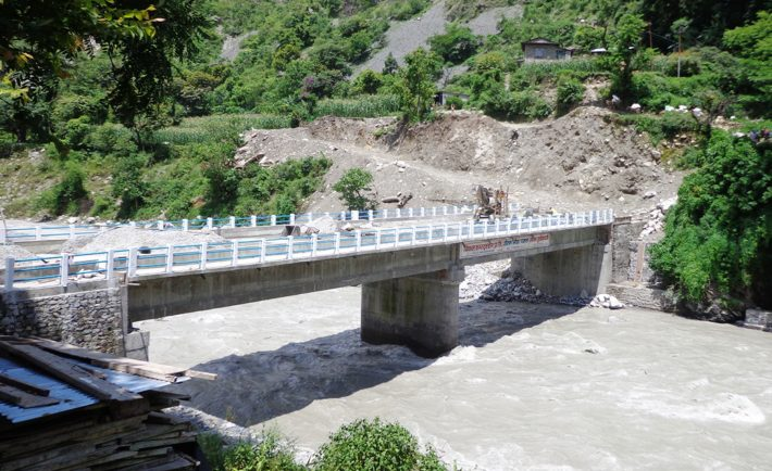 कर्णालीमा राजमार्गमा १२ नयाँ पक्की पुल सुविधासम्पन्न